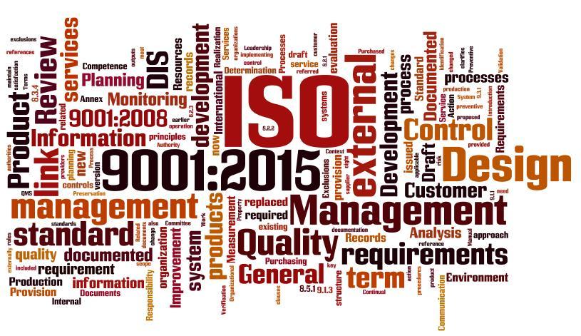 مشاوره ایزو 9001 - 2015 - سازمان های کوچک